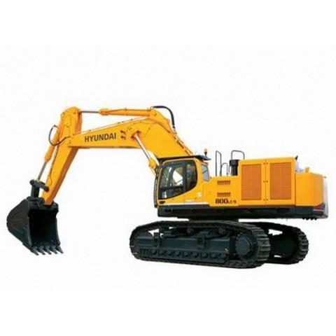 Hyundai Robex 800LC-9 / R800LC-9 Crawler Excavator Repair Service Manual