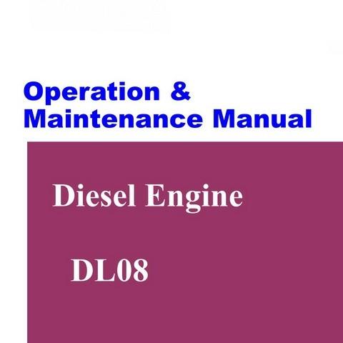 Doosan DL08 Diesel Engine Operation and Maintenance Manual
