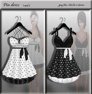 Pia dresses