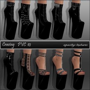 Craving PVC Heels
