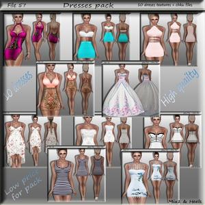 File 57 ( dresses pack )