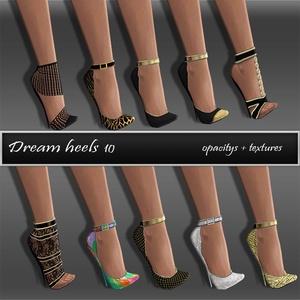 Dream Heels Texture pack