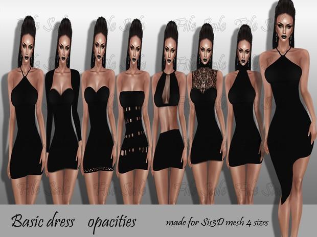 Basic Dress opacities