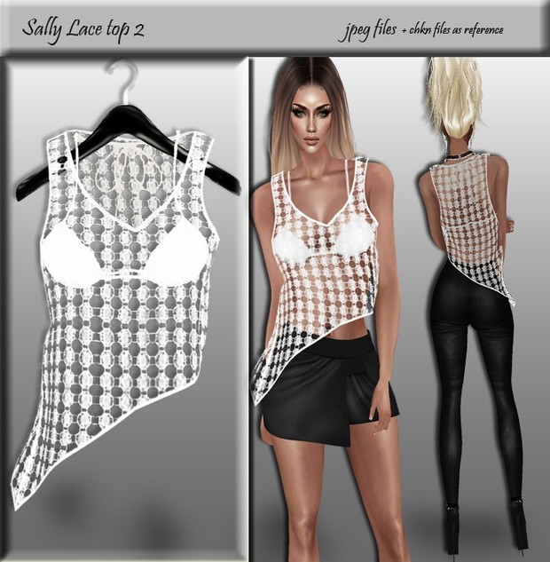 Sally Lace top 2