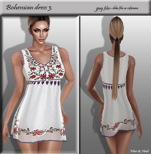 Bohemian Dress 3