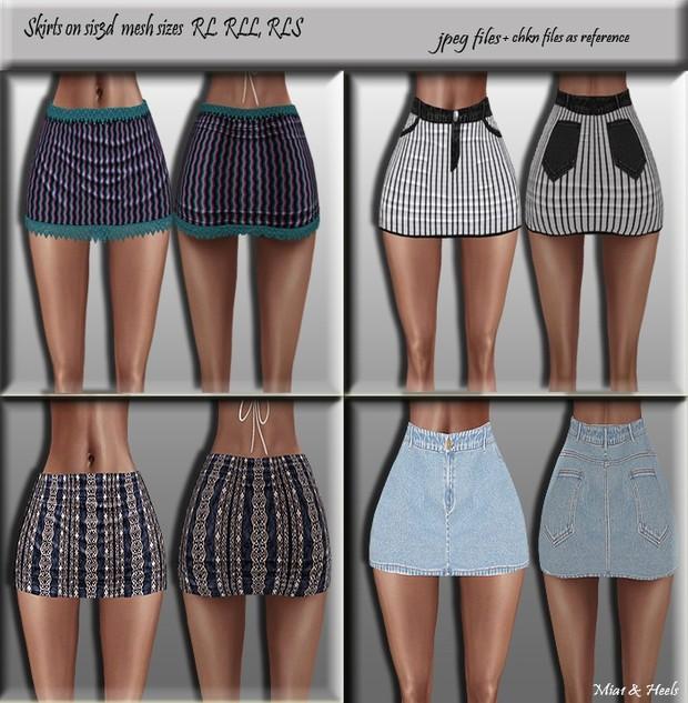Skirts ( RL, RLL, RLS sizes )