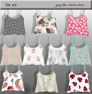 File 43 ( 10 tops )