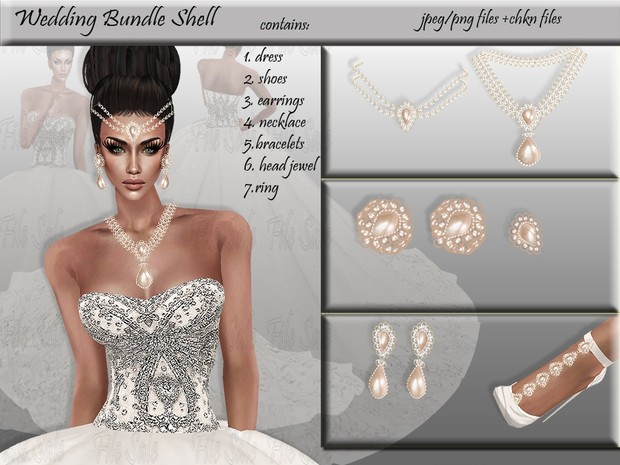 Wedding bundle Shell