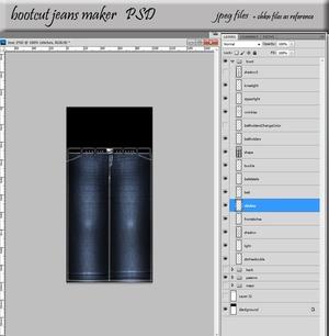 Jeans maker