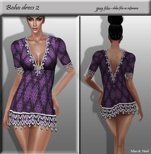 Bohemian dress 2