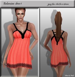 Bohemian dress 1