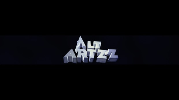 Simple 3D Text Banner