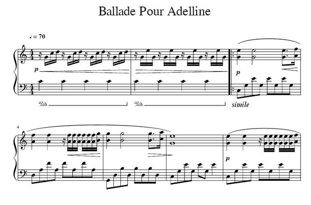 Ballade Pour Adelline