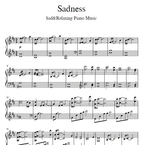 Sadness - Sad & Relaxing Piano Music