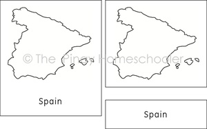 European Countries (Territorial Outlines)