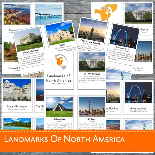 Landmarks of North America