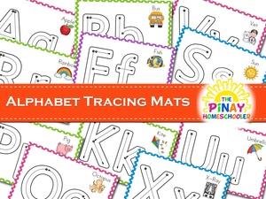 Alphabet Tracing Mats