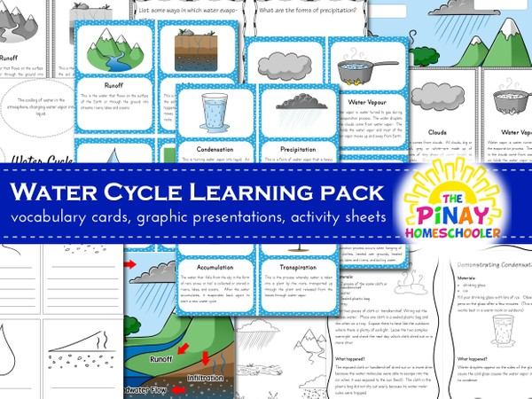 Water Cycle Learning Pack