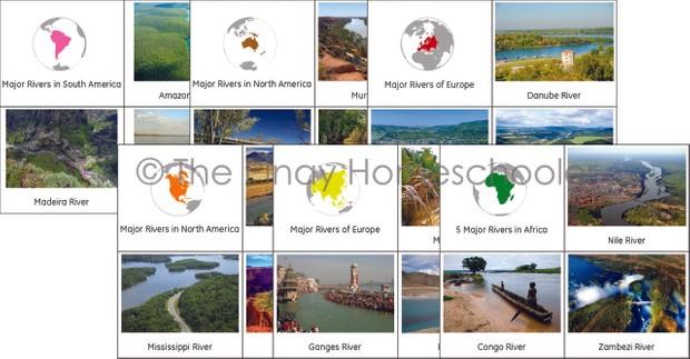 Major Rivers Around the World