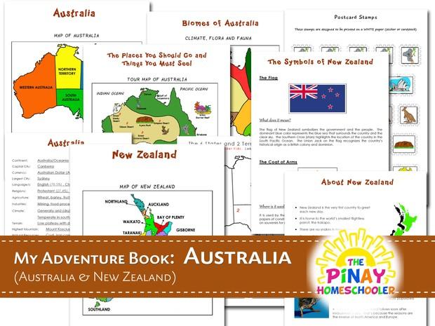 Australia/Ocean My Adventure Book