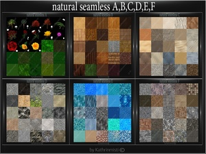NATURAL SEAMLESS A,B,C,D,E,F