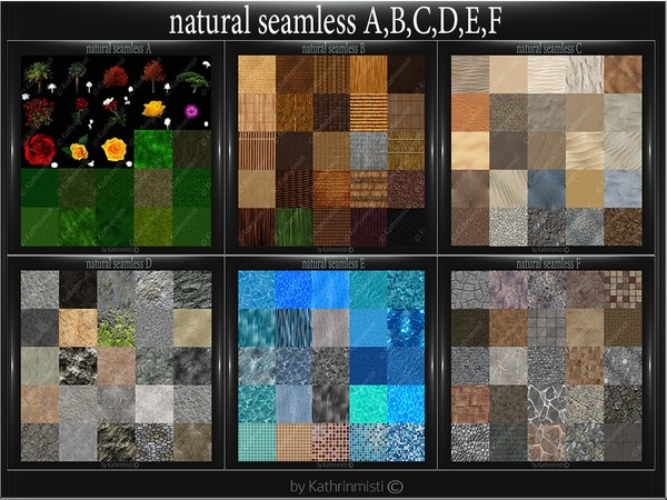 NATURAL SEAMLESS A,B,C,D,E,F