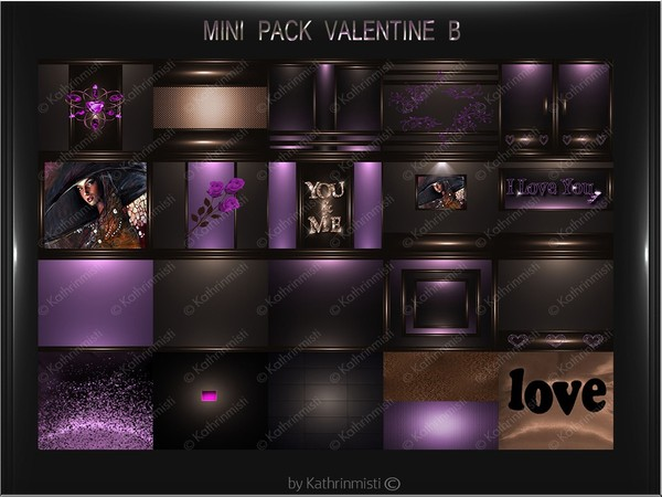 VALENTINE B MINI PACK