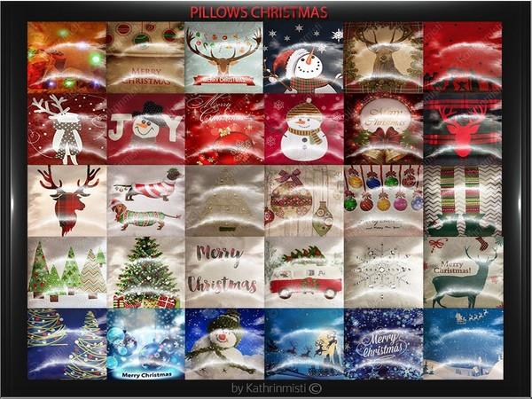 PILLOWS CHRISTMAS