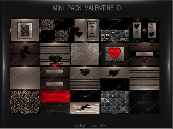 VALENTINE D MINI PACK