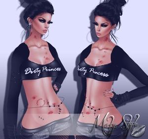 ~Dirty Princess top~