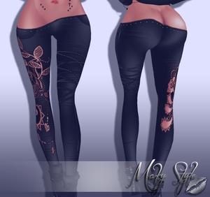 ~ Flower pants sis3d compatible ~