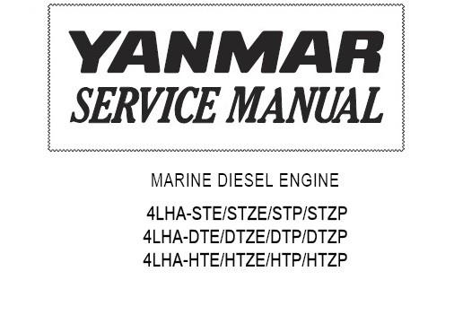 Yanmar marine diesel engine 6ly3-etp, 6ly3-stp, 6ly3-u.