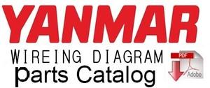 Yanmar Crawler Backhoe YB401W & YB401W-2 Parts Catalog Manual