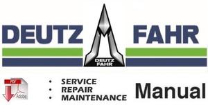 deutz fahr agrotron k90 k100 k110 k120 workshop manual