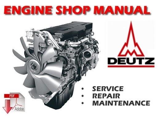 deutz b fm 1008 f engines service repair workshop manu rh sellfy com Ford Workshop Manuals Ford Workshop Manuals
