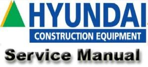 Hyundai R95W-3 Wheel Excavator Service Repair Workshop Manual