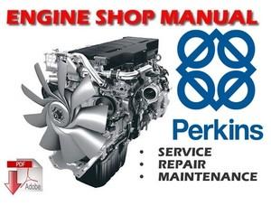 Perkins 4.2482 , 4.248 , T4.236 , 4.236 , 4.212 and T4.38 Diesel Engines Workshop Manual