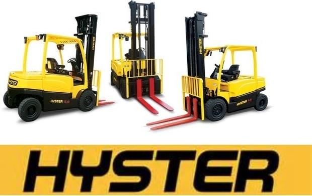 Hyster E019 (H300HD H330HD H360HD H360HD-EC) Forklift