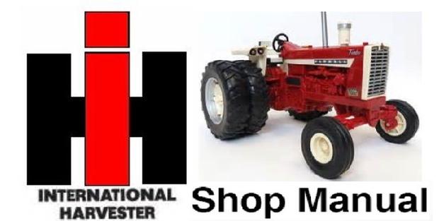 IH International Harvester 454 464 484 574 584 674 Tra