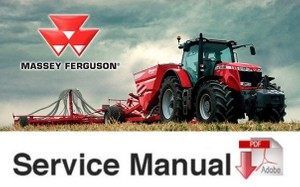 MASSEY FERGUSON  362 365 375 383 390 390T 398 Tractor Shop Manual