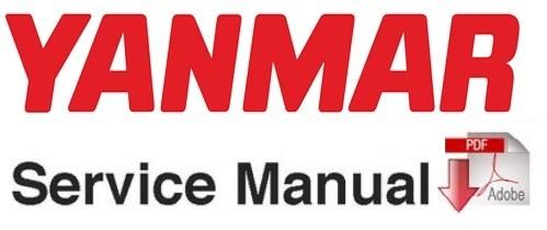 Yanmar b7-3 (us) excavator service repair workshop manual.