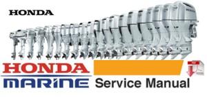 Honda BF115A , BF130A Marine Outboard Service Repair Workshop Manual
