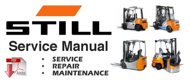 Still FU-X20 Forklift Service Repair Workshop Manual DOWNLOAD