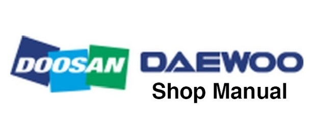 Daewoo Doosan Excavator DX Series Electrical & Hydraulic Schematic -COLLECTION