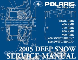2004 polaris deep snow 600 700 800 trail switchback rmk snowmobile repair manual pdf