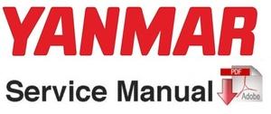 Yanmar ViO20 Excavator Service Repair Workshop Manual
