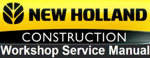 New Holland Kobelco E175B , E195B Crawler Excavator Workshop Service Repair Manual