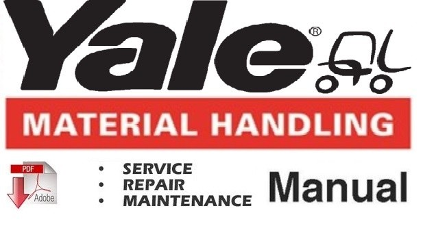 Yale ERC 040 - 050 - 060 RA / ZA Lift Truck Service Repair and Maintenance Manual