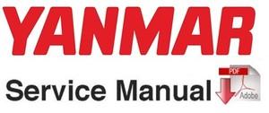 Yanmar B25V Excavator Service Repair Workshop Manual