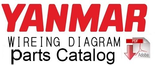 yanmar crawler backhoe b50 2 parts catalog manual rh sellfy com Yanmar B50 Andrew Camarata Yanmar B37